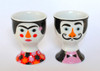 Omm Design - Frida And Salvador Egg Cup Set
