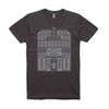 Men's Coal Tee - Grand Budapest