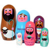 Omm Design - Christmas Nesting Dolls