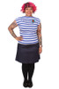 Rizzo Top Blue Stripe - LUCKY LAST ONE LEFT - XL