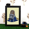 Ryan Berkley Gorilla Framed Print