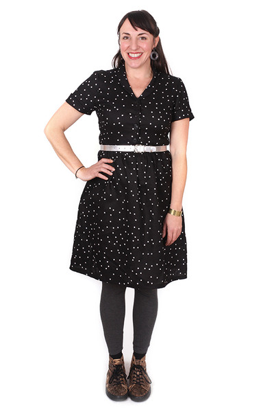 Nell Dress Black Spot