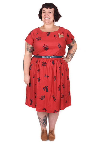 Jessie Dress Bushwalk
