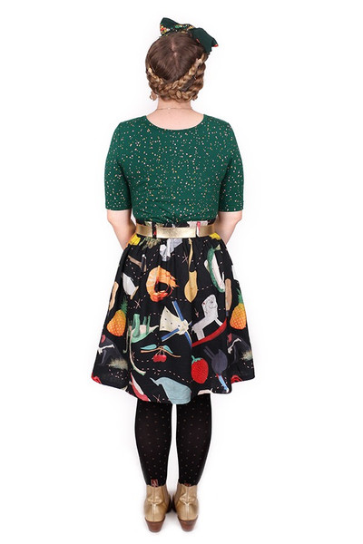 Patsy Skirt Big Aussie Rd Trip - LUCKY LAST ONE LEFT - XL