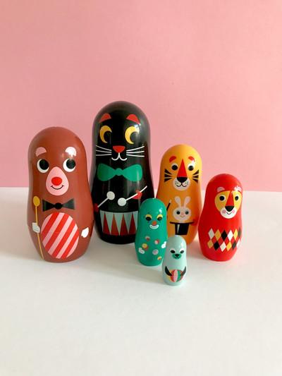 Nesting Dolls Carnival