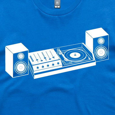 HiFi Royal Blue Mens T