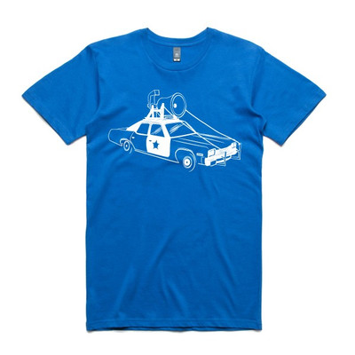 Blues Brothers Royal Blue Mens T