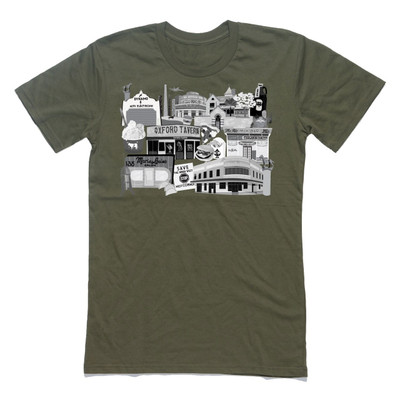 Inner West Icons Army Mens T