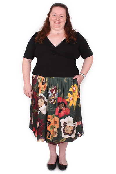 Every Body Patsy Skirt Long Flower Ladies