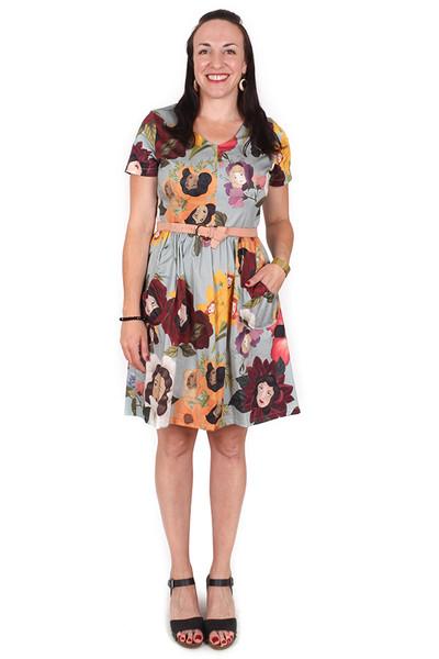 Hayley Dress Flower Ladies