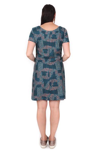 Penelope Dress Imagined Landscapes - LUCKY LAST ONE LEFT - XL