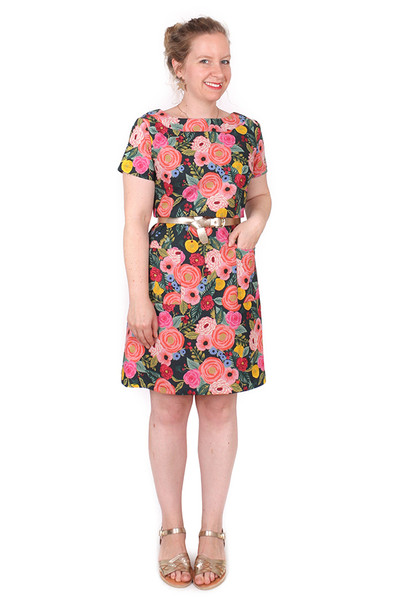 Penelope Dress Juliet Rose - LUCKY LAST SIZE LEFT - MEDIUM
