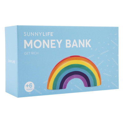 Rainbow Money Bank.