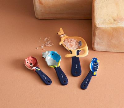 Fauna Measuring Spoons Set of 4.