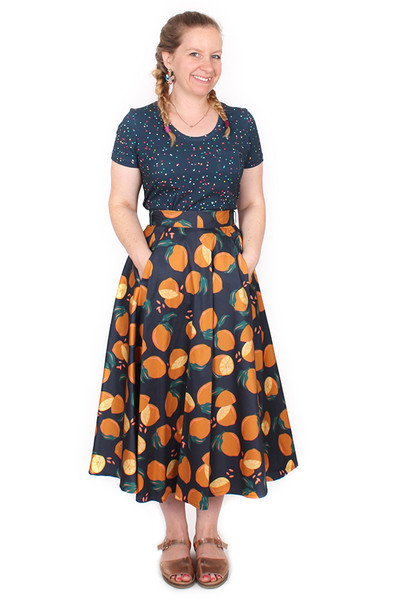 Every Body Valentina Skirt Summer Citrus.