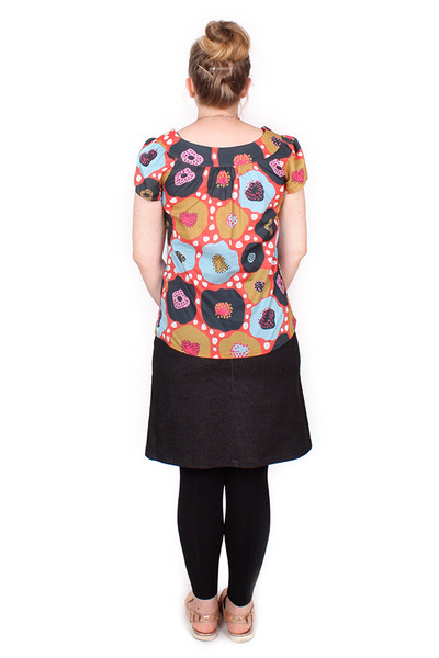 Every Body Ginny Top Sanoma Dots