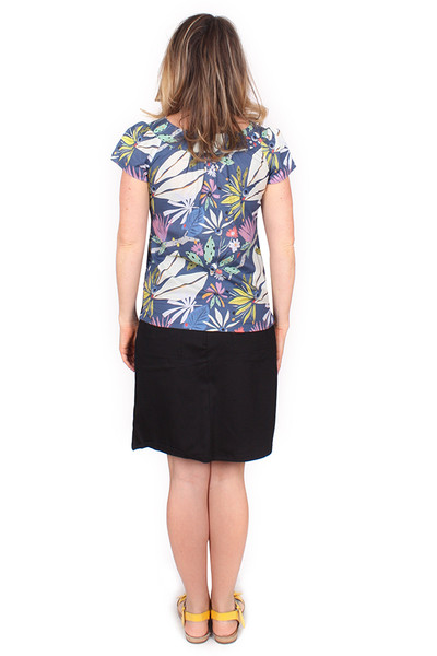 Every Body Ginny Top Floral Fronds