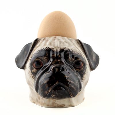 Pug Face Egg Cup Fawn.
