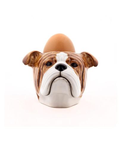English Bulldog Face Egg Cup.