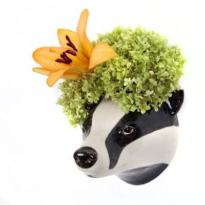 Badger Wall Vase.