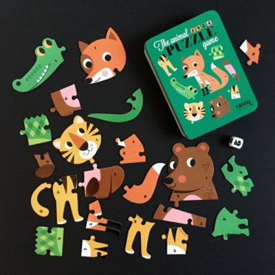 Omm Design - Animal Dice Puzzle Game