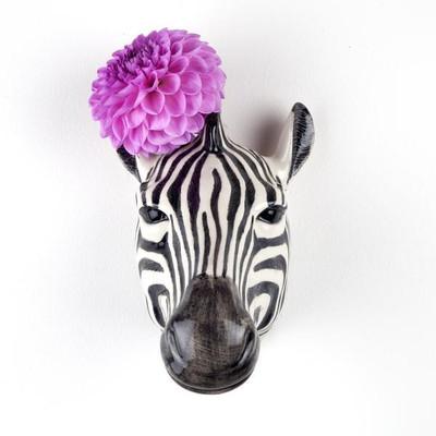Zebra Wall Vase.