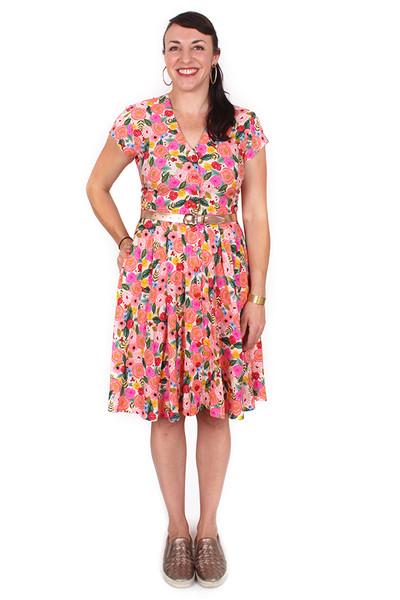 Saski Dress Rosa - LUCKY LAST SIZE LEFT - MEDIUM