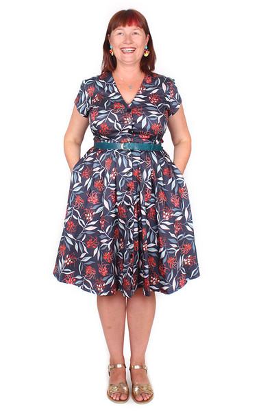 Saski Dress Grevillea. - LUCKY LAST SIZE LEFT - XL