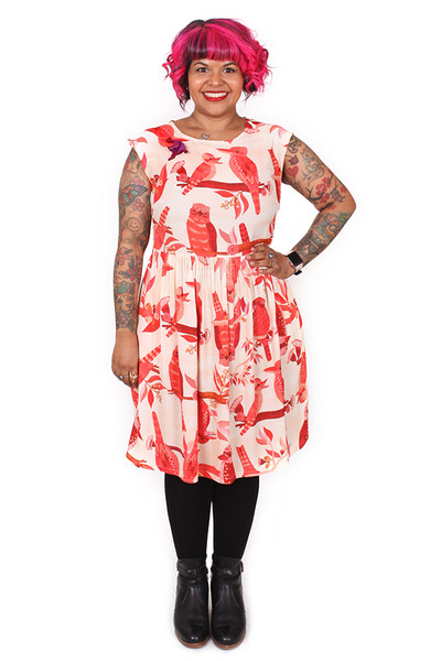 Every Body Edie Dress Kookaburras - LUCKY LAST ONE LEFT - SMALL