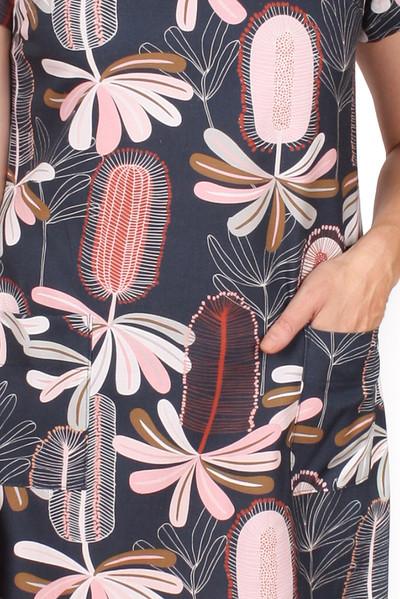 Every Body Penelope Dress Drawn Banksia