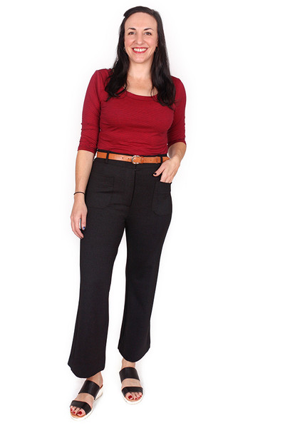 Every Day Olive Pant Lithograph Navy