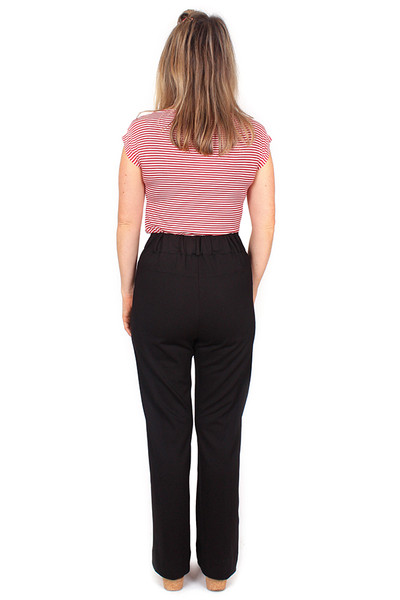 Every Day Olive Pant Black