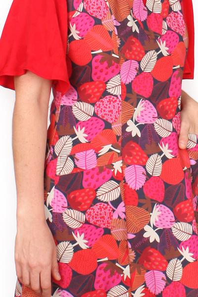 Queenie Dress Strawberries.