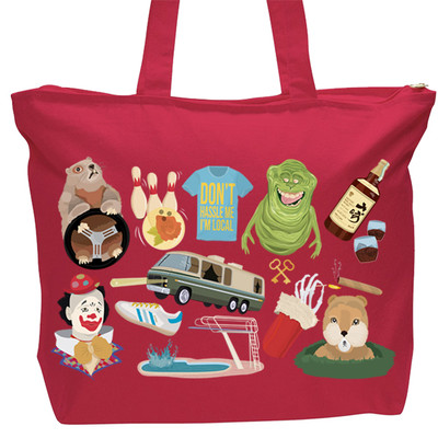 Bill Murray Tote bag - Red