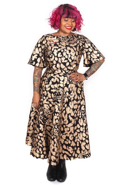 Every Body Valentina Skirt Leopards