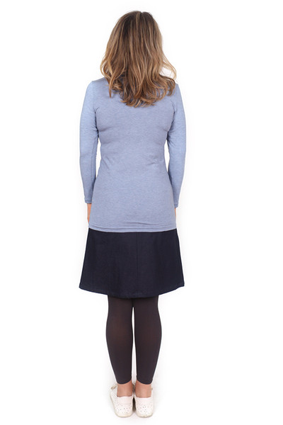 Every Body Autumn Top Chambray