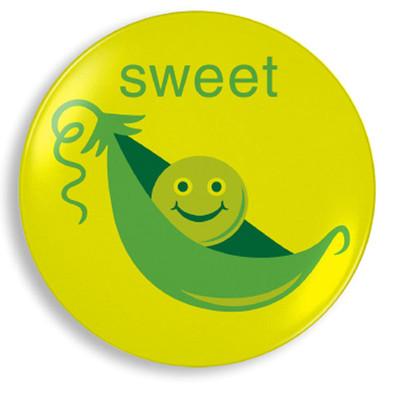 Sweet Pea Plate - Jane Jenni