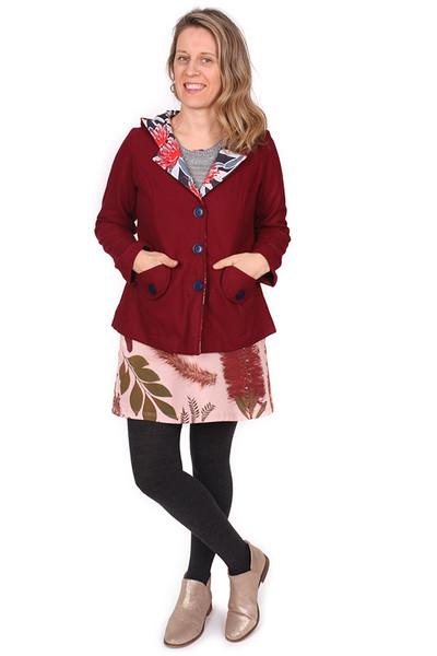 Helen Coat Rouge