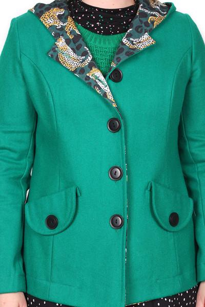 Helen Coat Emerald