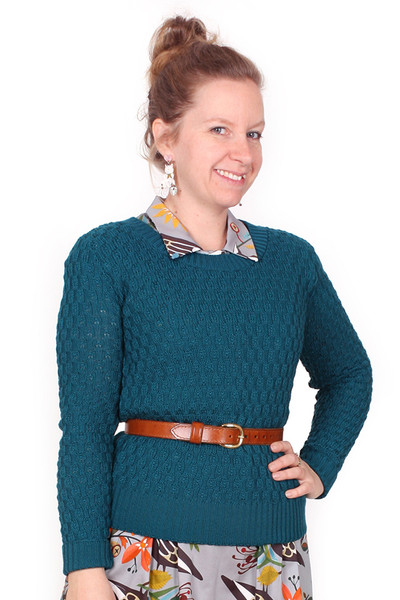 Every Body Jacqui Jumper Teal