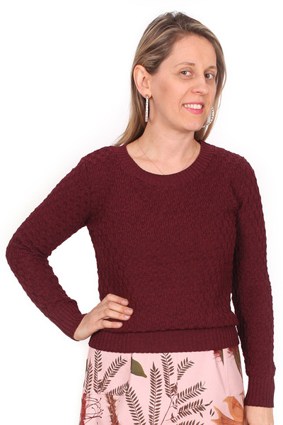 Every Body Jacqui Jumper Berry