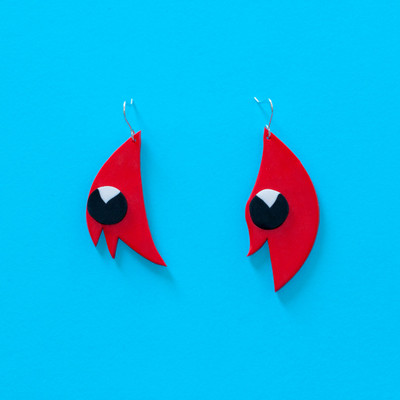 Sturt Desert Pea Earrings