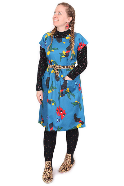 EB Nigella Dress True Blue Bewdies