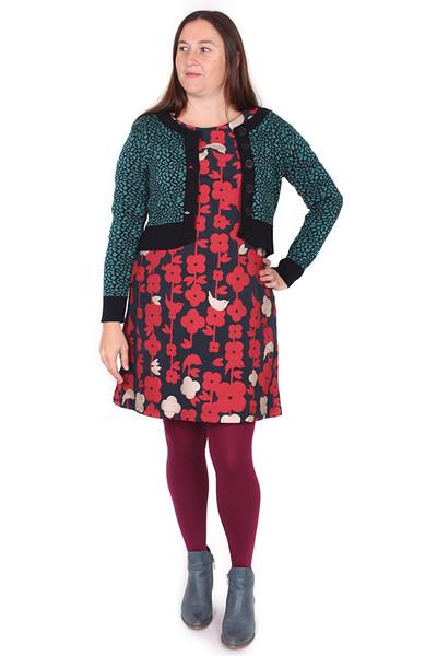 Gladys Dress Folk Floral