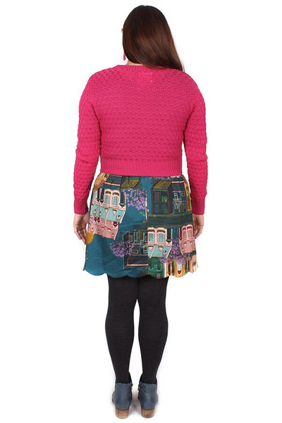 Every Body Clover Jumper Fuchsia