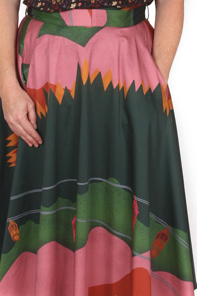 EB Valentina Skirt Alpine Adventure.
