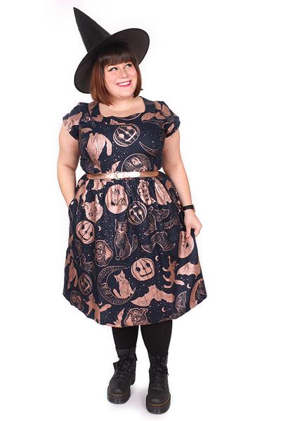 Every Body Aggie Dress Salem Nights