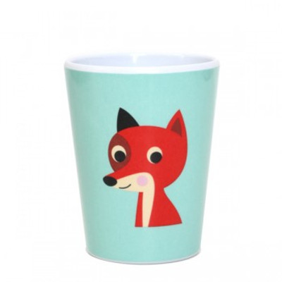 Omm Design - Mint Fox Tumbler