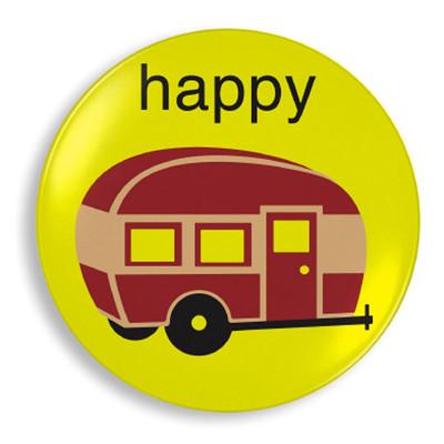 Happy Camper Plate - Jane Jenni