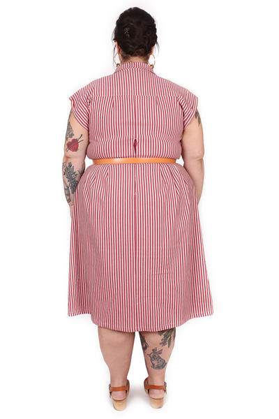 Every Body Trixie Dress Shrill Stripe